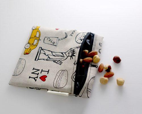 Ici et La Creations snack bags new york