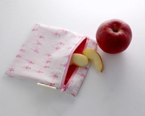Ici et La Creations snack bags ballerina