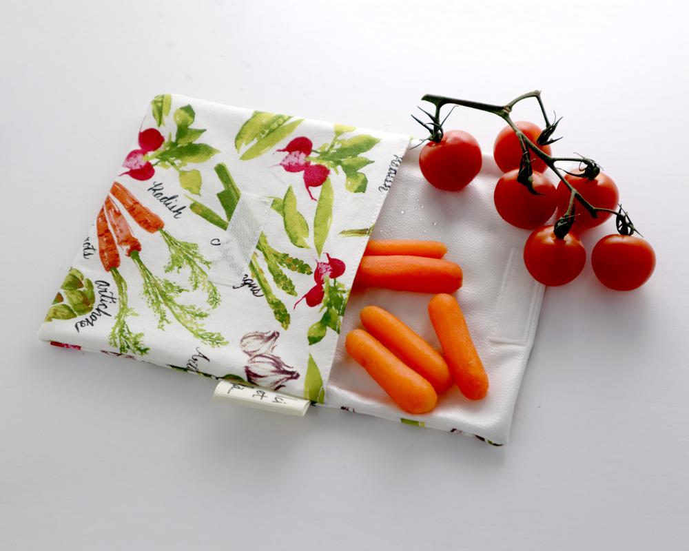 Ici et La Creations snack bags vegetables