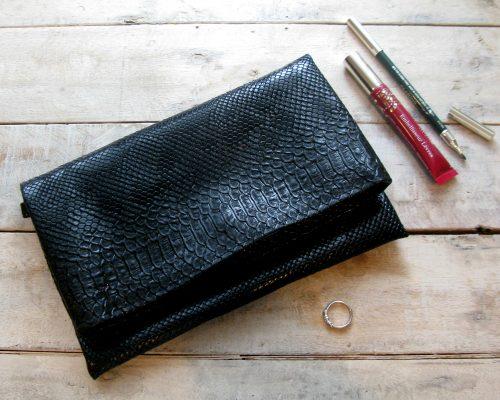 Ici et La Creations clutch handbag