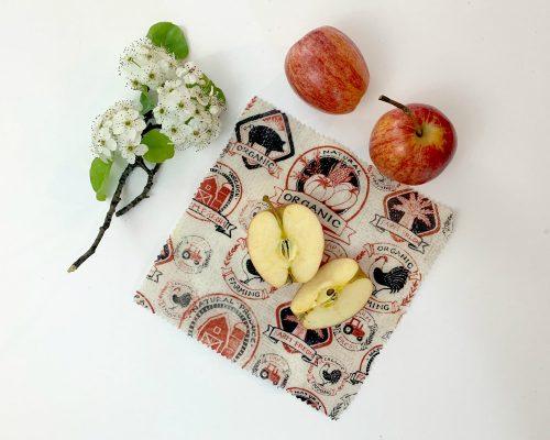 Ici et La Creations reuseable beeswax wraps