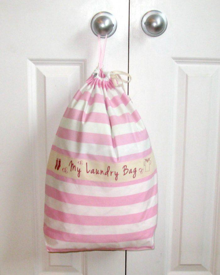 Ici et La Creations laundry bags