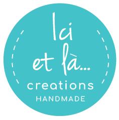 Ici et La Creations logo blue lagoon