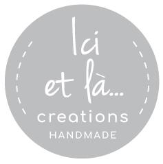 Ici et La Creations logo grey