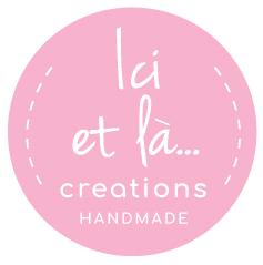 Ici et La Creations logo pink
