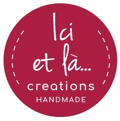 Ici et La Creations logo raspberry