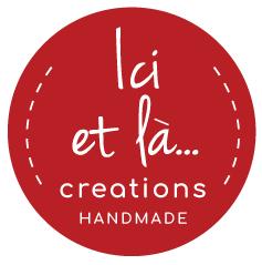 Ici et La Creations logo red