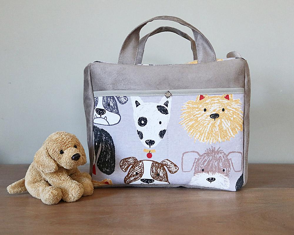 Ici et La Creations Baby Bag - Dogs