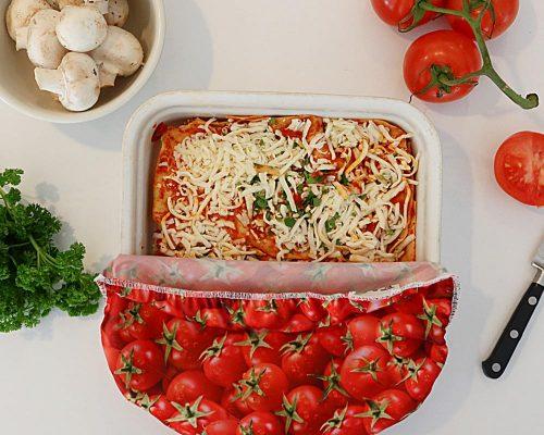 Ici et La Creations - Reuseable Bowl Covers - Tomatoes